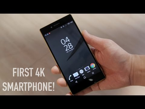 4K Smartphone? Sony Xperia Z5 Premium Hands-On With Camera Samples!
