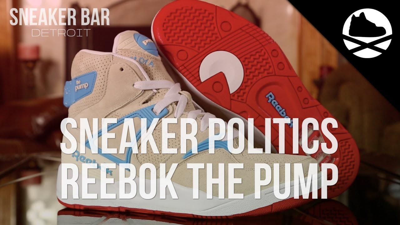 ed8788cf3548 Sneaker Politics x Reebok Pump 25th Anniversary - Review - YouTube