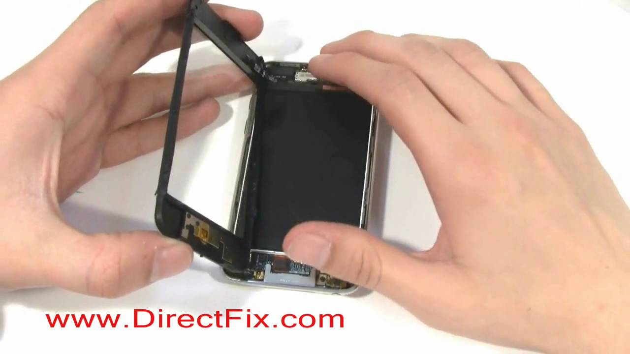 Ipod Touch Gen 3 Battery Replacement Directions By Directfix Com Youtube