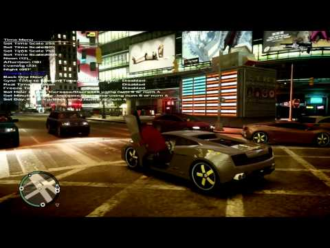 GTA IV Levo ENB, Crysis Guns and Car Mods
