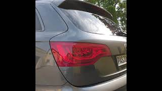 Audi Q7 S-Line 4.2TDI paint correction , Tevo S36 ceramic coat