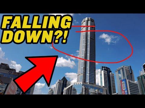 Panic As Chinese Skyscraper Wobbles!