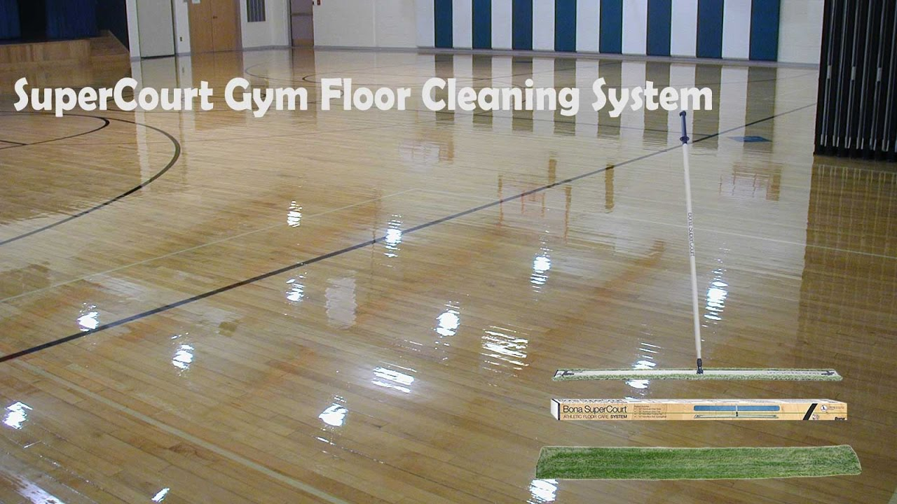 Gym Floor Cleaning You
