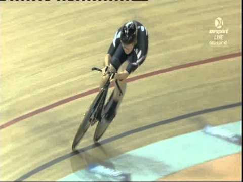 Alison Shanks - Delhi Commonwealth Games 500m TT