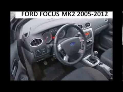 FORD FOCUS MK2 20052012 diagnostic OBD port connector socket location OBD2 DLC DATA LINK  YouTube