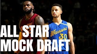 Picking the 2018 NBA All Star Game Lineups: NBA Mock Draft
