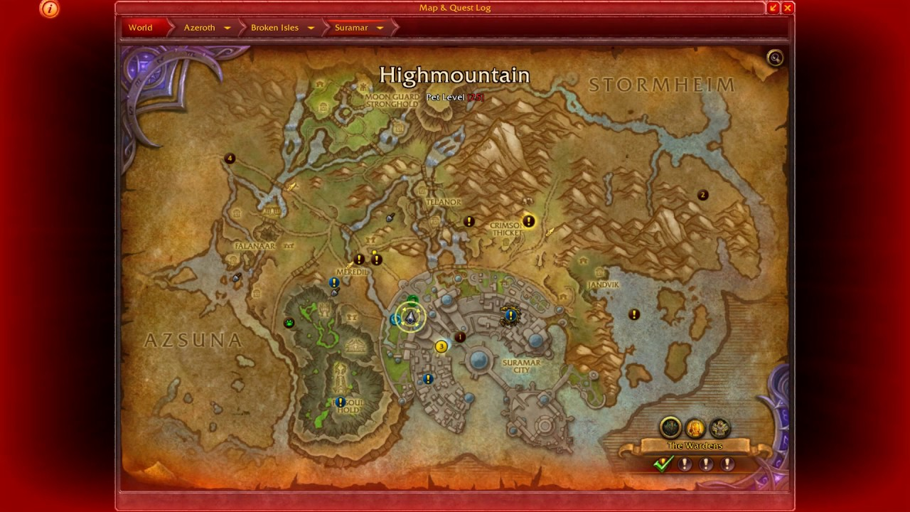 wow how to get nighthold mission