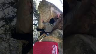 笠間 ベンチ岩SD 2級 【クライミングチャンネル】外岩ボルダリングの動画・トポはクライミングチャンネル 【Climbing Areas and Boulders in Japan】 thumbnail