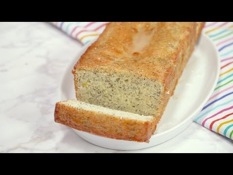 Lemon Yogurt Poppy Seed Bread