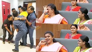 AP  C Chairperson Roja Laughs For TDP MLAs Suspension From AP Assembly  TDP Leaders Suspended