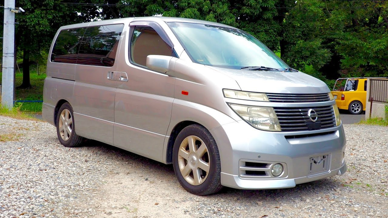 2002 Nissan Elgrand Highway Star Canada Import Japan Auction