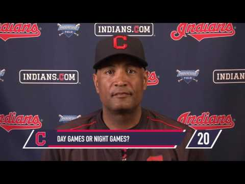 Get to know Cleveland Indians first-base coach Sandy Alomar Jr.