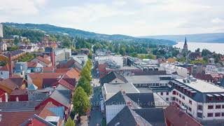 Lillehammer Norway -Drone
