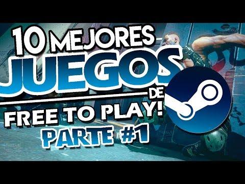 TOP 10 Mejores Juegos De STEAM Para PC (GRATIS) 2019 | 10 Mejores Juegos FREE TO PLAY De STEAM [#1]
