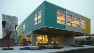Modular Construction of David H. Koch Childcare Center in Cambridge