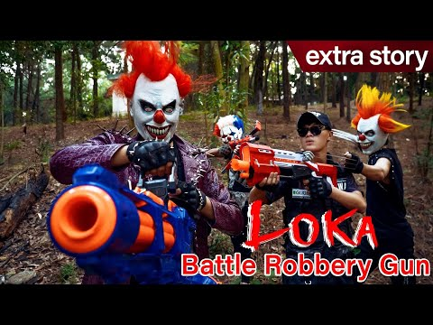 GUGU Nerf War Ep 10 : CID Dragon Nerf Guns Fight Boss Loka Mask Family Worin And Tick