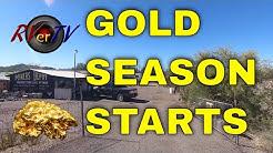 Miners Depot Open For The Season - Quartzsite AZ - 30,000 Subscribers !!
