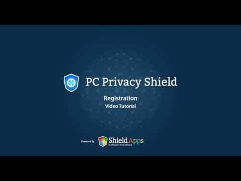 PC Privacy Shield - Registration