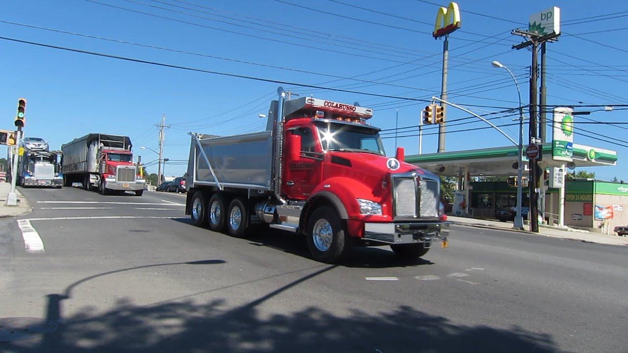 Kenworth T880 Dump Truck - YouTube Kenworth Dump Trucks Pics