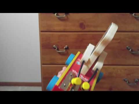 1962 Fisher price tiny teddy xylophone