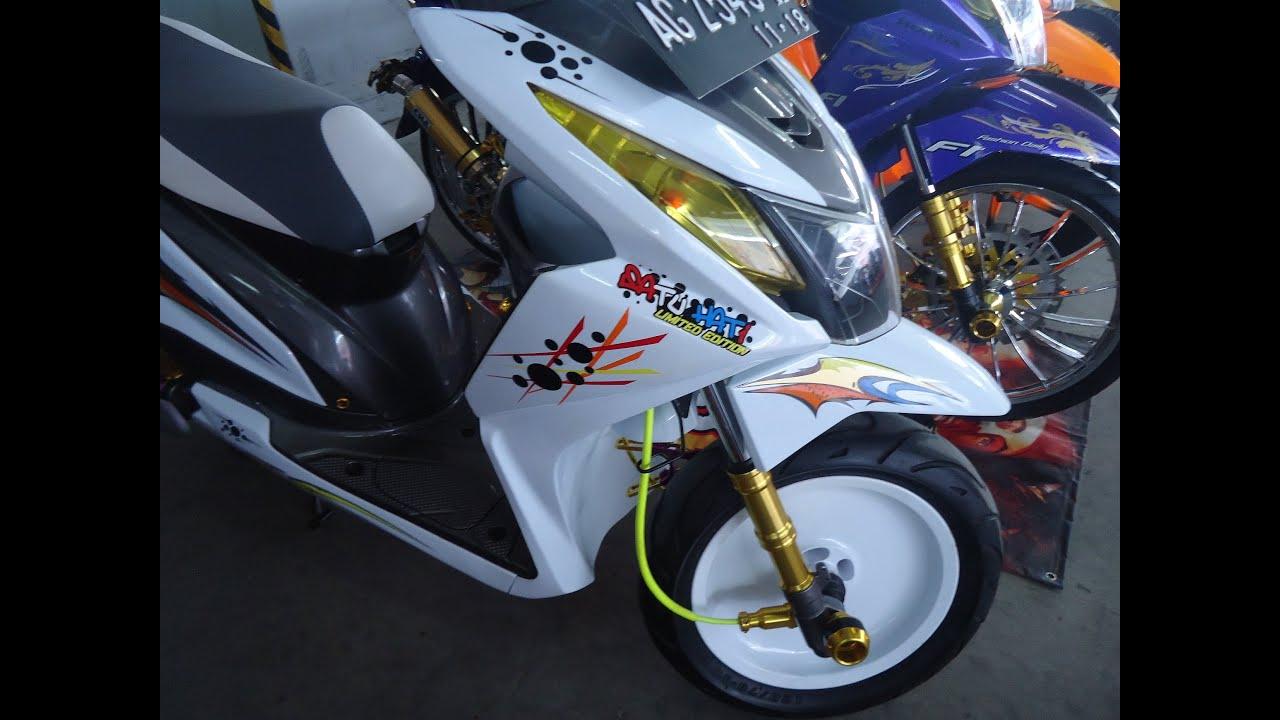 Koleksi Ide Modif Honda Beat Fi Touring Terbaru Botol Modifikasi