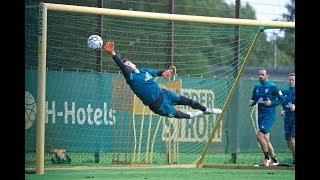 Da zappelt's im Netz: Werder schießt sich für Augsburg warm
