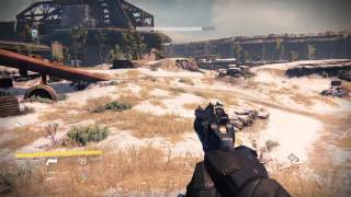 Destiny Hunt gray,Wolf assassin in the Cosmodrome Mothyards+ Ether chest location