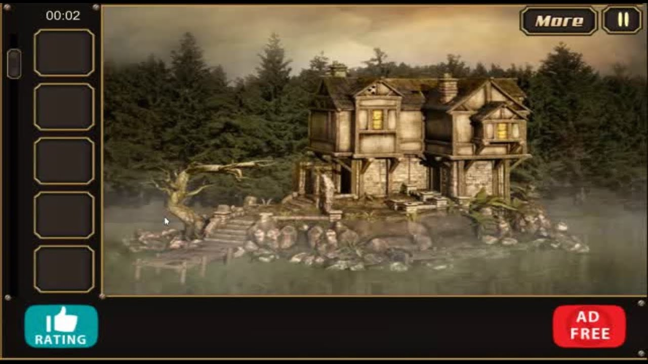 Forest lake house escape walkthrough youtube for Minimalistic house escape 5 walkthrough