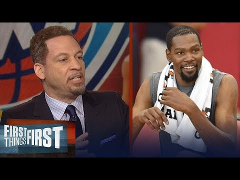 Chris Broussard on Durant's best option if the Warriors win another title | NBA | FIRST THINGS FIRST