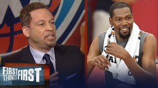 Chris Broussard on Durant