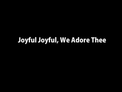 Joyful Joyful, We Adore Thee Instrumental Worship Video w/ Lyrics