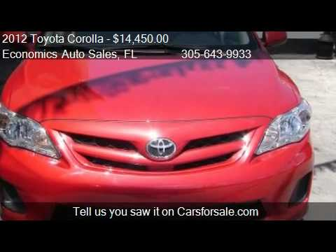 2012-toyota-corolla-le-4-speed-at---for-sale-in-miami,-fl-33