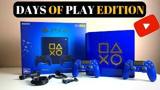 Days Of Play - Limited Edition PS4 Console (Unboxing 2018)