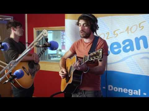 The Coronas live in the Ocean FM Studio