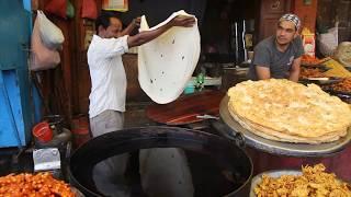 The fine art of Kashmiri Puri (Paratha) making