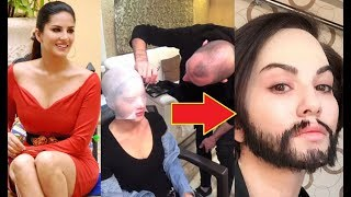 Sunny Leone SHOCKING Transformation To A MAN!