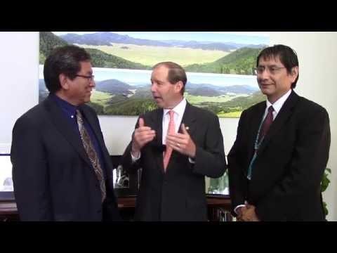 Senator Tom Udall Message to Navajo Nation