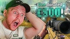 £500 Donation = 57 Kill Warzone Win?