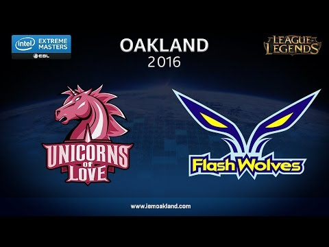 LoL - UOL vs. Flash Wolves - Game 5 - Grand Final - IEM Oakland 2016
