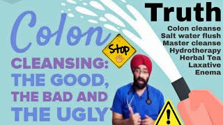 STOP 🛑 doing these DETOX | Side effect of Colon Cleanse, Salt water flush etc | Dr.Education (Hin)
