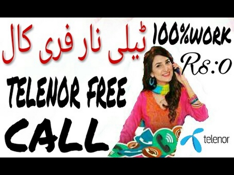 free call to telenor number from internet