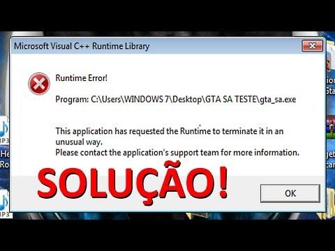 Runtime Error! Microsoft Visual C++ Runtime Library