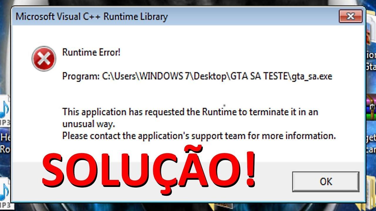 Microsoft Visual C Runtime Error Games | Legacy Time