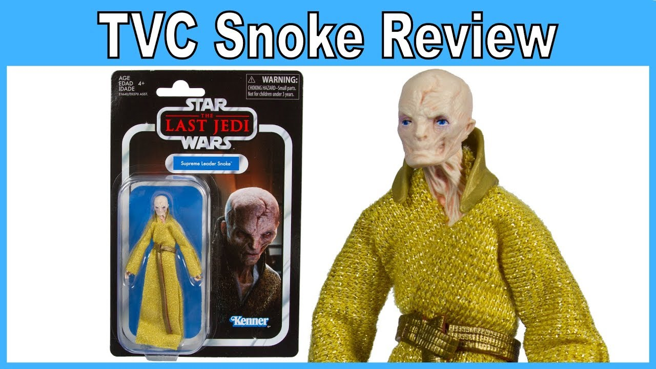 Star Wars The Last Jedi Supreme Leader Snoke Vintage Action Figure by Kenner