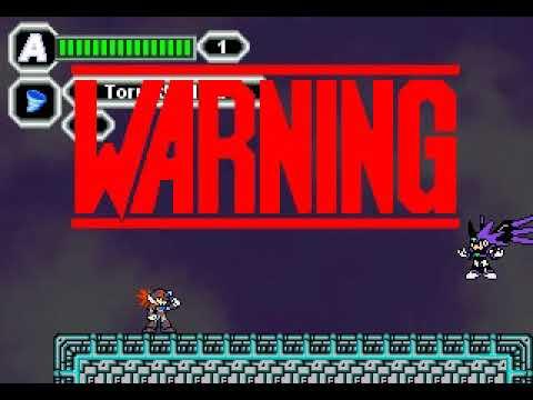 Mega Man X Nightshade (fan game) PC - Final Boss + Ending  
