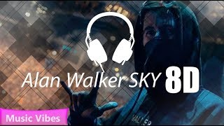 Alan Walker & Alex Skrindo - Sky [ASMR 8D Song]