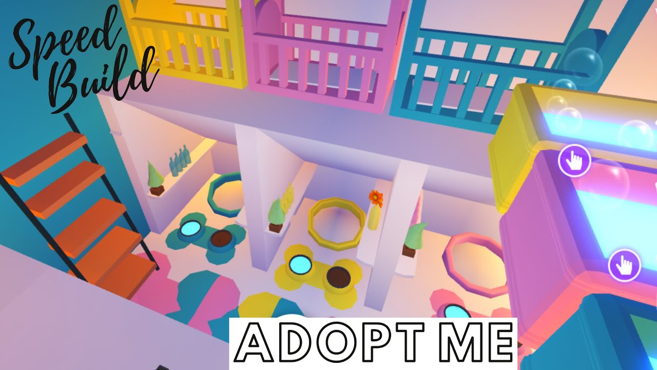 Adopt Me Speed Build Adopt Me Pet And Baby Room Adopt Me Building Hacks Adopt Me Bedroom Youtube