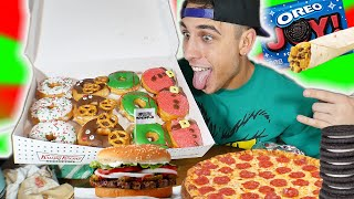 "ALL NEW DECEMBER FAST FOOD ITEMS CHEAT DAY ""10,000 CALORIES"""