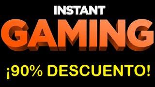 Cupones descuento Instant Gaming - 90% DESCUENTO!!