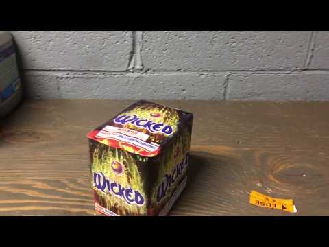 Wicked-Firehawk Fireworks-DEMO-200g-ONE OF THE BEST 200g CAKES